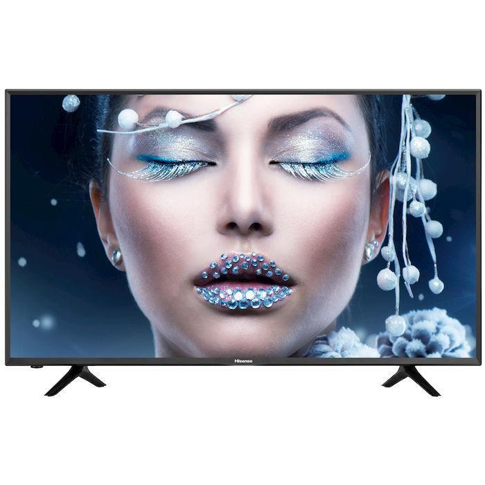 Телевизор Hisense H65NEC5205 (65 дюймов, PQI 1100 Гц, Ultra HD 4K, Smart, Wi-Fi, DVB-T2/S2)