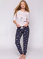 4d33c7d298e60 Нежная пижама из хлопка высокого качества.Польша.Sensis PINK FLAMING