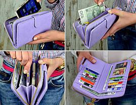 Женский кошелек, клатч, фото 3