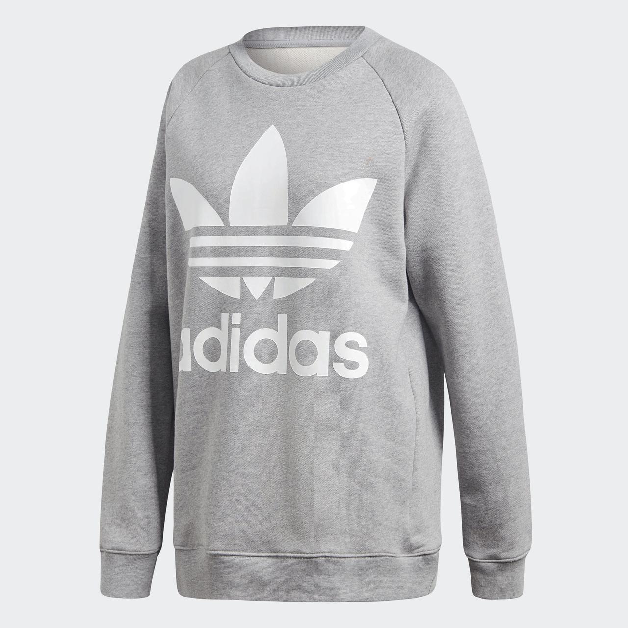Женская толстовка Adidas Originals Trefoil Oversize (Артикул: DH3125)