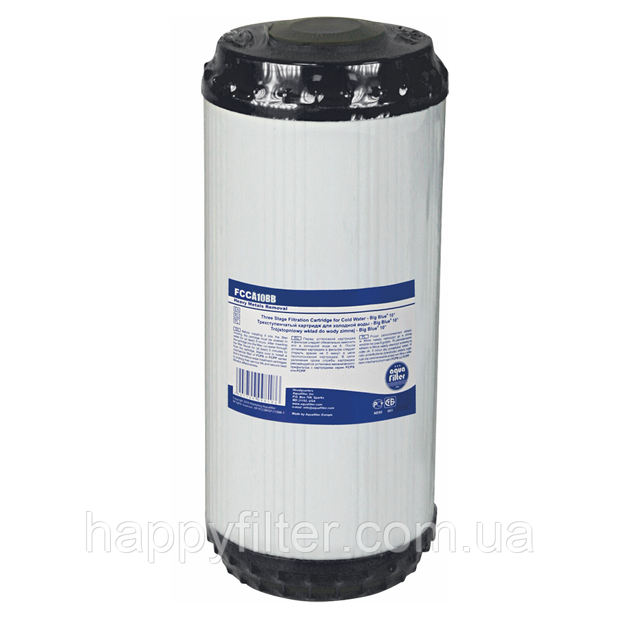 Картридж Aquafilter FCCA10BB (удаление хлора)