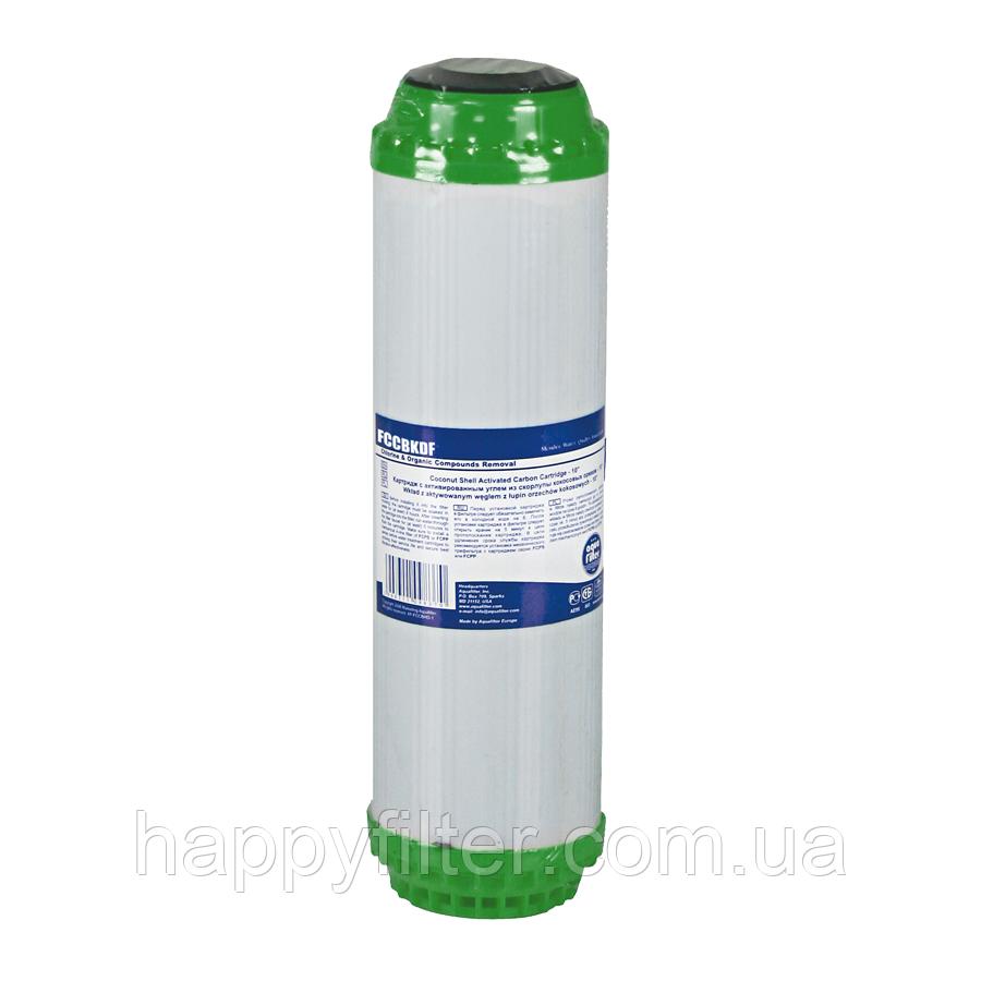 Картридж Aquafilter FCCBKDF (удаление хлора, железа)