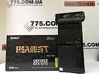 Игровой компьютер Intel Core i7 3.9GHz, RAM 16ГБ, SSD 240ГБ, HDD 500ГБ, GF GTX 1070 8ГБ, гарантия 6мес на ПК, фото 1