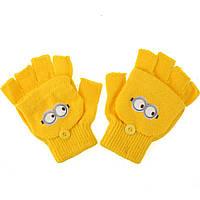 Перчатки для мальчиков Minion. {есть:Один размер}