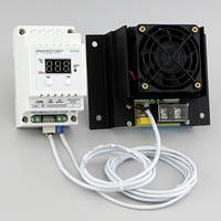 Терморегулятор цифровой симисторный мощный на DIN-рейку (-40°...+110°, симистор 35А) РТУ-35/D-NTC, фото 1