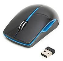 Мышка Platinet PM-417, Wireless Black-Blue (PM0417WBBL)