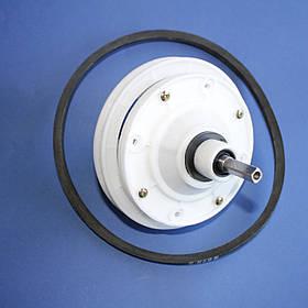 Редуктор ST18 (вал квадрат 9 мм) с приводным ремнем А-675Е для стиральной машины Saturn
