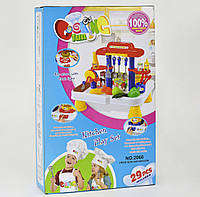 Детская кухня с кухонными приборами, со световыми и звуковыми эффектами, код М-011