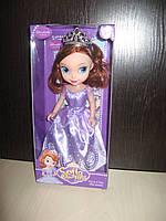 Кукла принцесса софия с короной для девочки