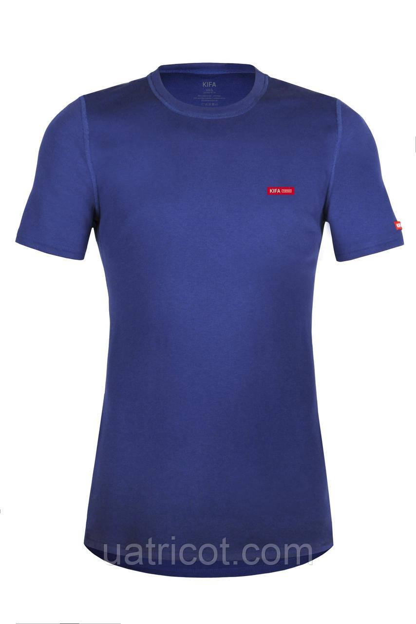 Термофутболка мужская ФМ-634  Vortex Activ Comfort синяя