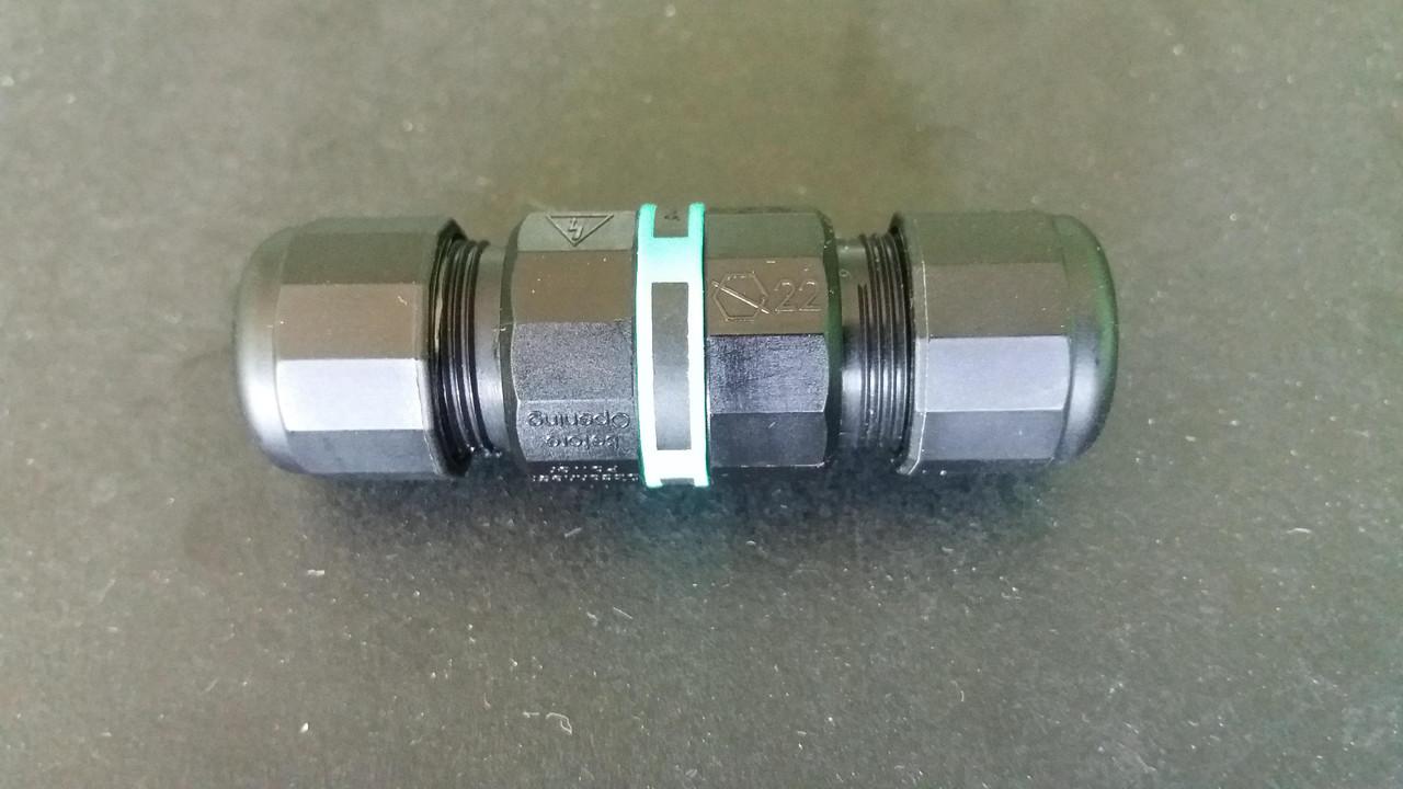 Герметичный соединитель THB.391.A3A. Мини соединитель IP68 круглый. 2х-3х контактный соединитель герметичный