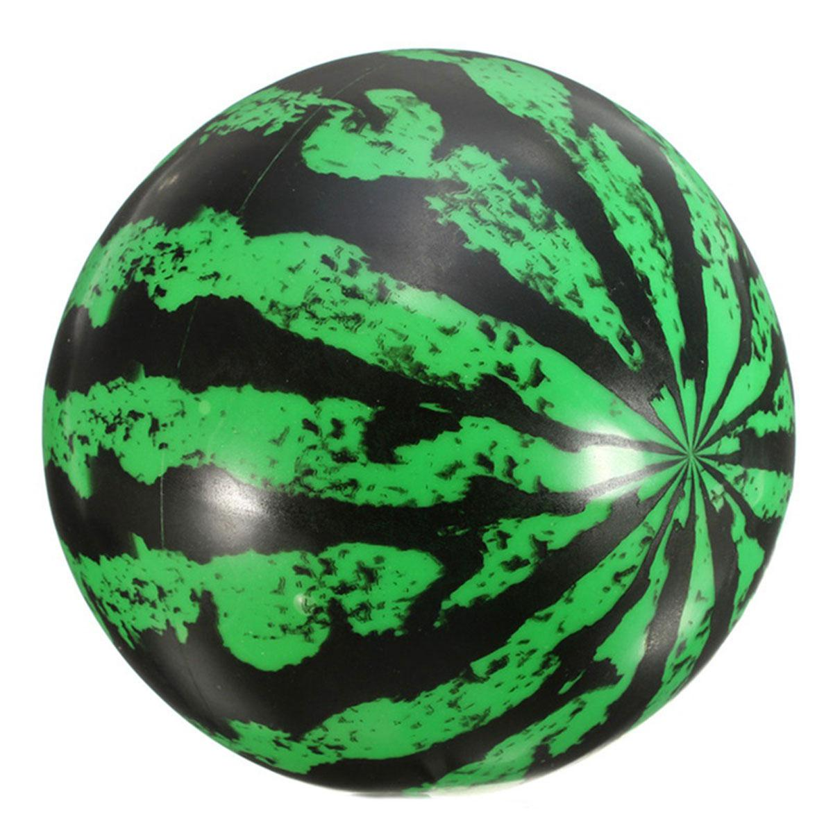 Мяч арбузик  16 см-20 см