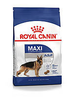Корм для собак крупных пород от 15 месяцев до 5 лет Royal Canin (Роял Канин) Maxi Adult 4кг.
