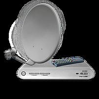 Спутниковое ТВ, эфирное Т2, Android TV