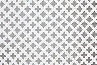 Панель (решетка) декоративная перфорированная Белый, Роял