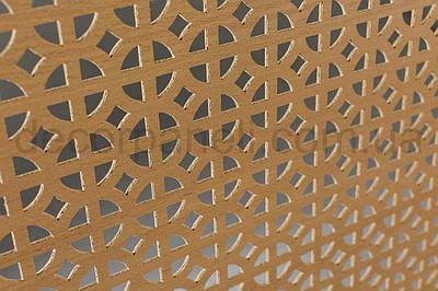 Панель (решетка) декоративная перфорированная, 1390 мм х 680 мм Бук, Классик