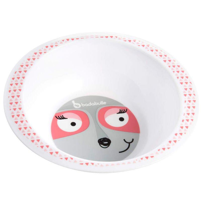 Badabulle - Глубокая тарелка, цвет розовый