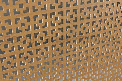 Панель (решетка) декоративная перфорированная, 1390 мм х 680 мм Бук, Эфес