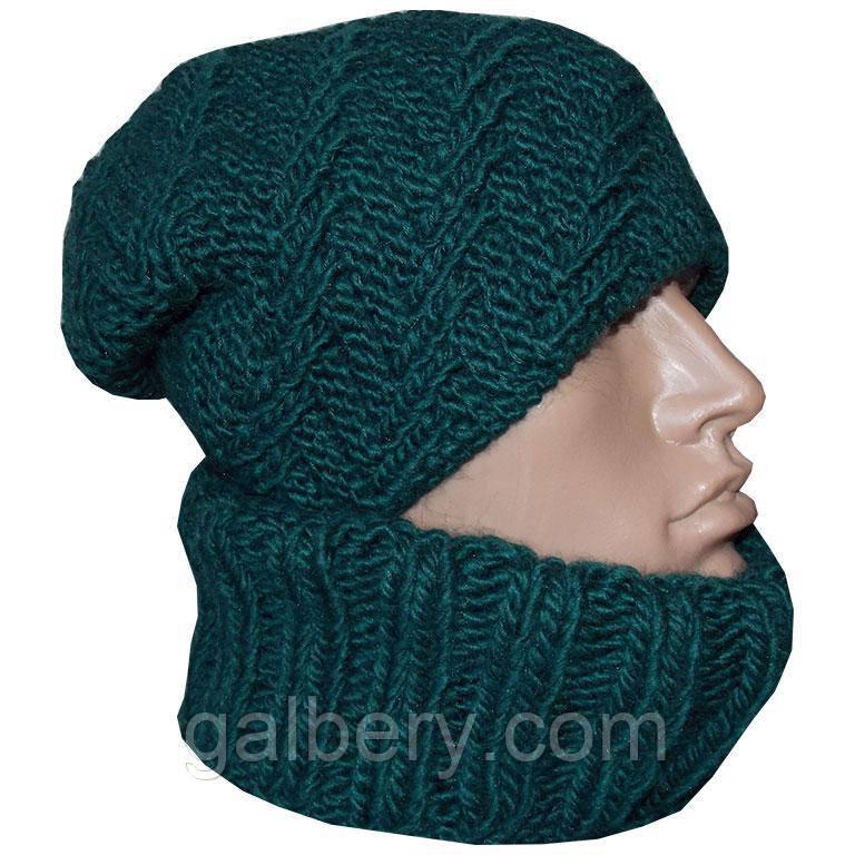 Зимова шапка ручної роботи