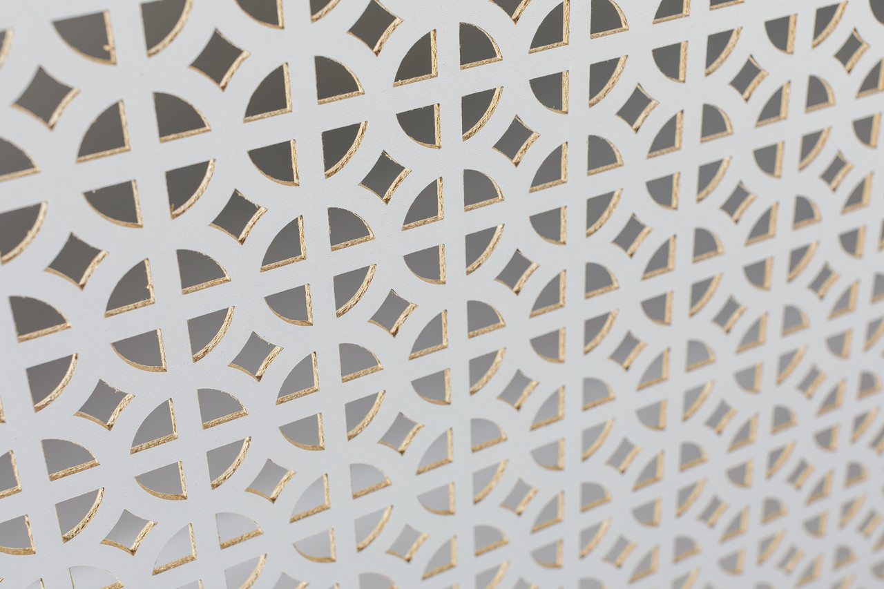 Панель (решетка) декоративная перфорированная, 1390 мм х 680 мм