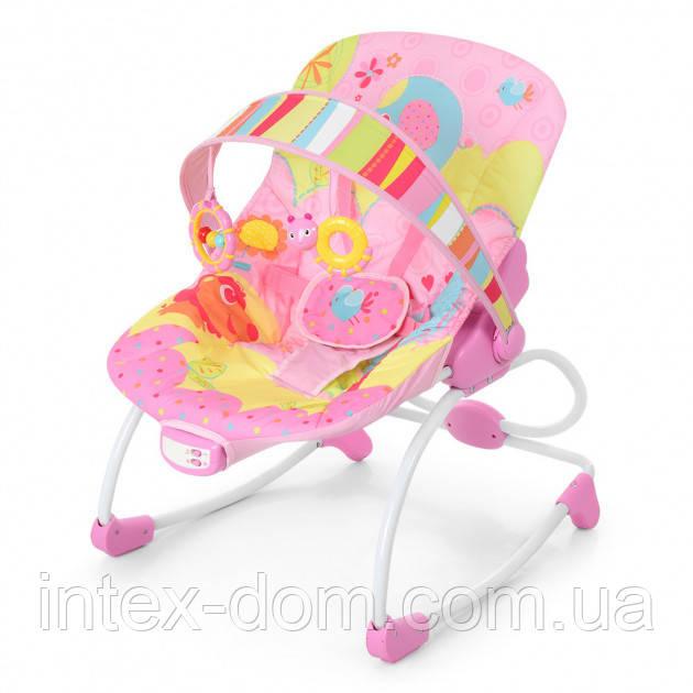 Шезлонг-качалка Bambi 6903-1 Pink