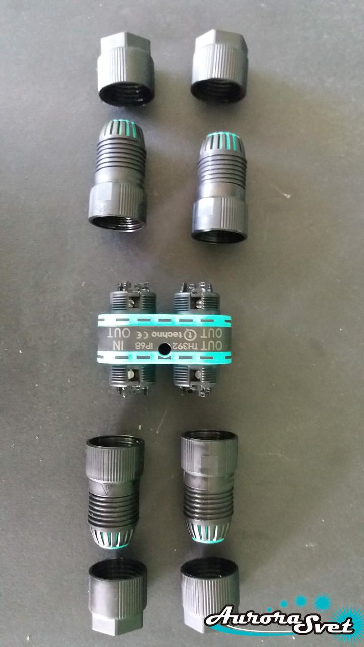 Распределитель проводов  THB.392.R4A mini-TEETUBE. Водонепроницаемый соединитель герметичный.