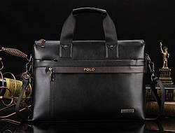 Cумка-портфель Polo Черный