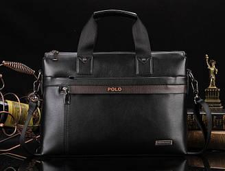 Сумка-портфель Polo Чорний