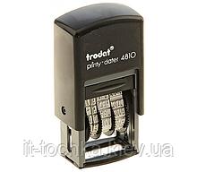 Пластмассовый бухгалтерский датер trodat 4810-укр украинский шрифт 3,8мм