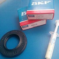 Комплект подшипников (SKF 206,205) сальник 37*66*9,5*12 WLK для стиральных машин LG