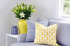 Декоративные подушки в современном интерьере