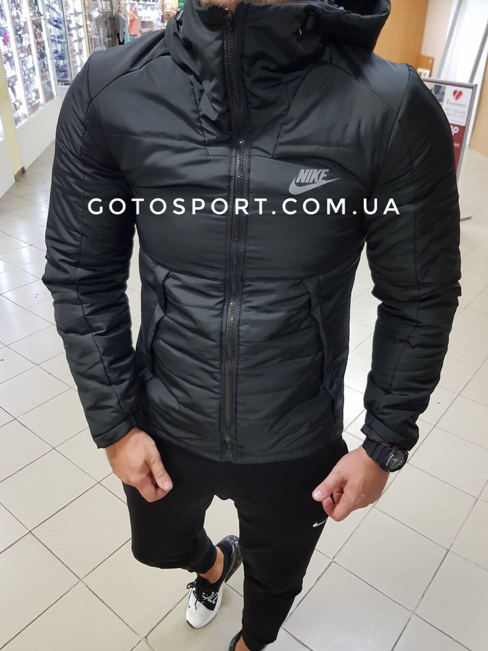 b19119a40ac4 Мужская демисезонная куртка Nike  продажа, цена в Киеве. куртки ...
