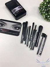 Профессиональные кисти для макияжа Huda Beauty 12 шт., фото 3