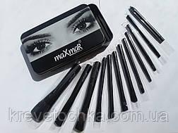Профессиональные кисти для макияжа Huda Beauty 12 шт., фото 2