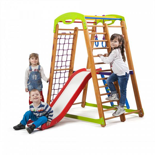 Детский спортивный уголок для дома Кроха - 2 Plus 2 SportBaby