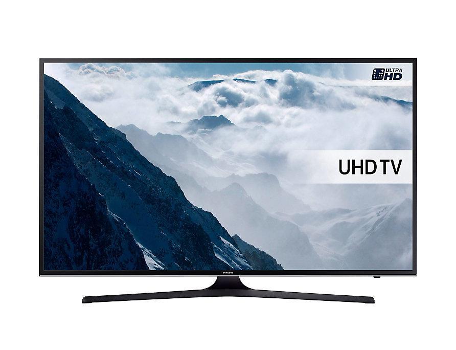 Телевизор Samsung UE55KU6050(PQI 1300Гц, Ultra HD 4K, Smart, Wi-Fi, DVB-T2/S2)
