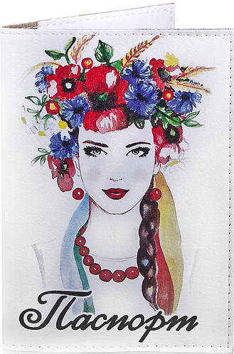 Женская яркая обложка для паспорта PASSPORTY (ПАСПОРТУ) KRIV141