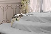 Покрывало из натуральной белой норки аукцион, размер 200×220 см в Харькове Шоу рум, фото 1