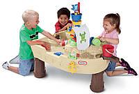 Детский водный столик Пиратский корабль Little Tikes 628566 для детей (дитячий водяний столик для дітей)