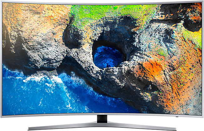 Телевизор Samsung UE55MU6500 (PQI 1600 Гц, Ultra HD 4K, Smart, Wi-Fi,изогнутый экран)