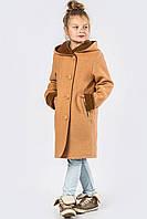 Детское пальто демисезонное DT-8273-10, (Песок), 122-128р.