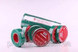 EH-AHT-1807 Зеленая изолента 11м 0,15мм х 18мм