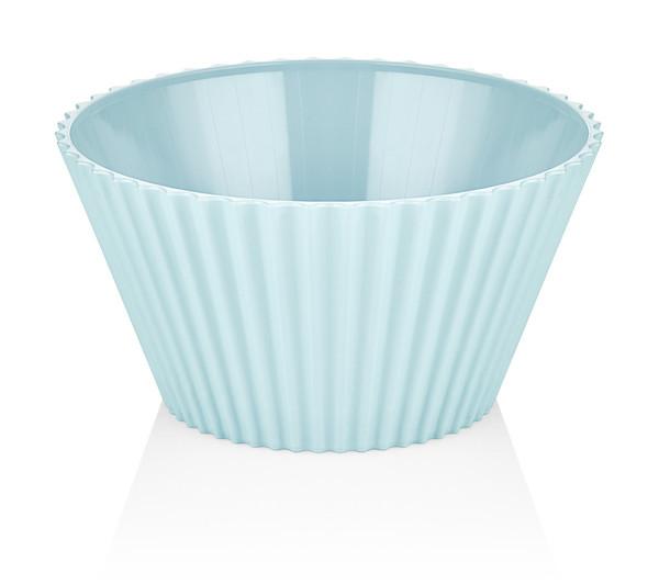 Салатник пластик BAGER BLUE/20.5 см (BG-440 B)