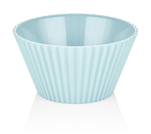 Салатник пластик BAGER BLUE/20.5 см (BG-440 B), фото 2
