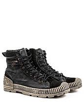Оригинальные Ботинки Мужские AW18 KARAVAS ZIP DE-CF8011LE 18FW DEN (мех) Черные, фото 2