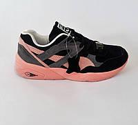 Замшевые женские кроссовки PUMA (trinomic)