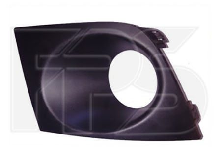 Решетка в бампер Nissan Tiida '05- (восточная версия) - левая (FPS)