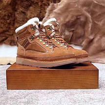 UGG Mens Bethany Chestnut Мужские зимнее ботинки на шнурках , фото 2
