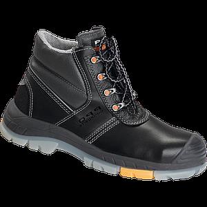 Ботинки рабочие BPPOT705 BS с металлическим подноском и защитой от проколов, черного цвета. PPO