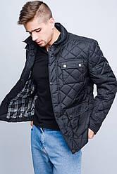 Куртка мужская демисезонная -23547, (Черный)